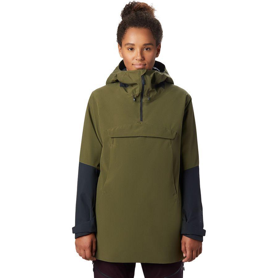 【クーポンで最大2000円OFF】(取寄)マウンテンハードウェア レディース ファイアフォール 2 インサレーテッド アノラック Mountain Hardwear Women Firefall 2 Insulated Anorak Combat Green