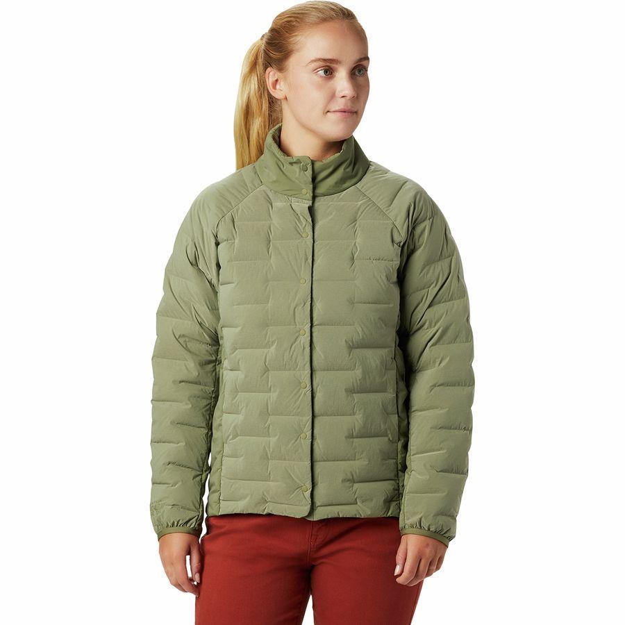 【エントリーでポイント5倍】(取寄)マウンテンハードウェア レディース スーパー DS シャツ ジャケット Mountain Hardwear Women Super DS Shirt Jacket Light Army