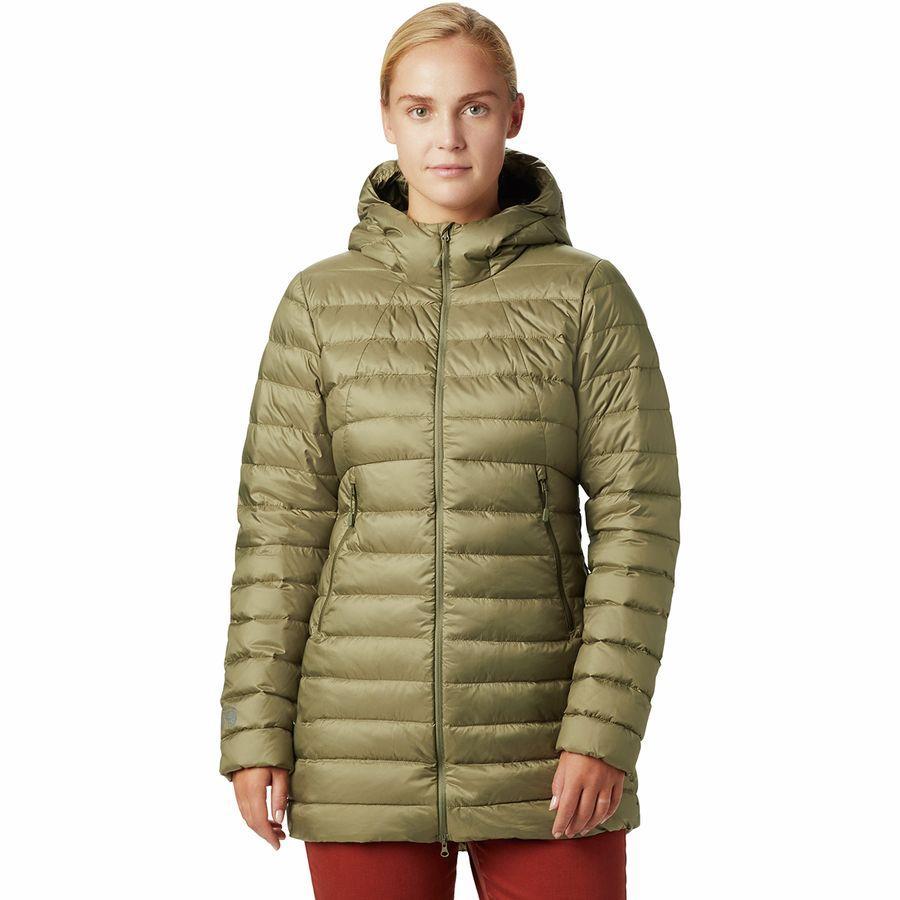 (取寄)マウンテンハードウェア レディース レア リッジ パーカー Mountain Hardwear Women Rhea Ridge Parka Light Army