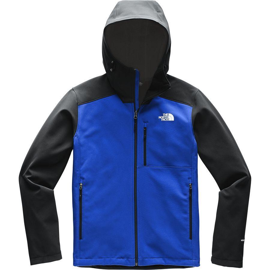 (取寄)ノースフェイス メンズ アペックス バイオニック 2 フーデッド ソフトシェル ジャケット The North Face Men's Apex Bionic 2 Hooded Softshell Jacket Tnf Blue/Tnf Black