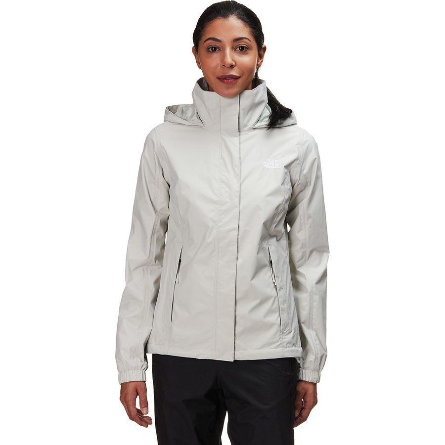(取寄)ノースフェイス レディース リゾルブ 2 フーデッド ジャケット The North Face Women Resolve 2 Hooded Jacket Tin グレー