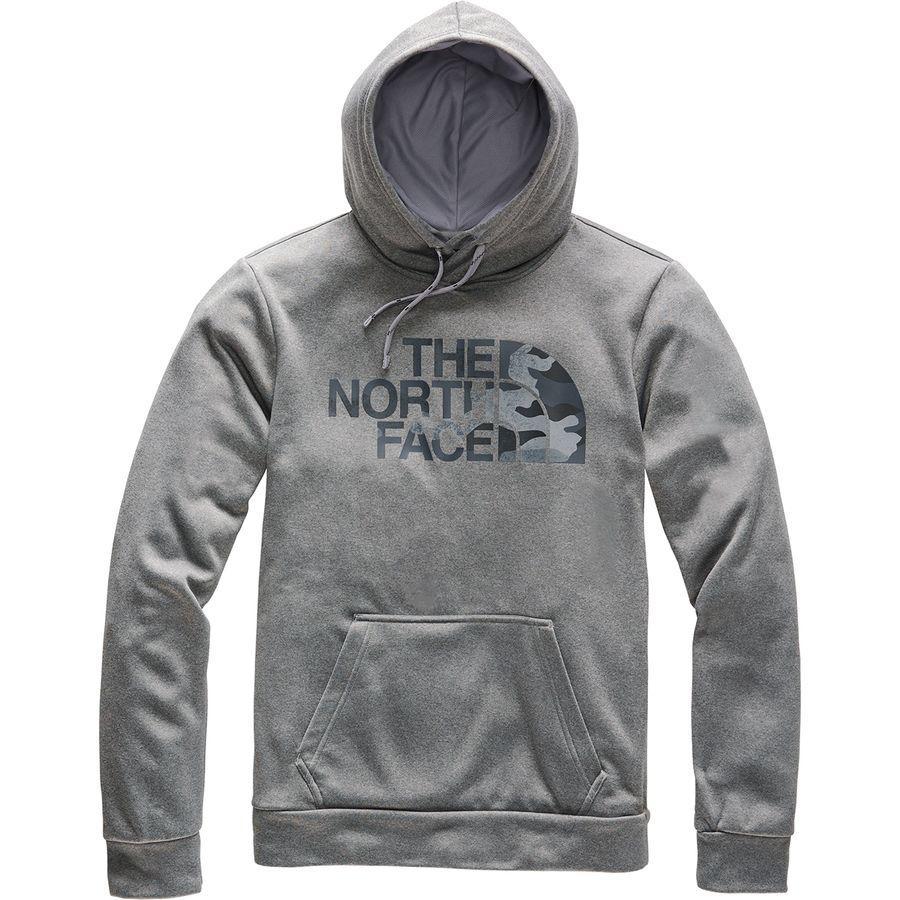 (取寄)ノースフェイス メンズ Surgent ハーフ ドーム プルオーバー 2.0- パーカー The North Face Men's Surgent Half Dome Hoodie 2.0 Pullover Tnf Medium Grey Heather/Asphalt Grey Camo Print