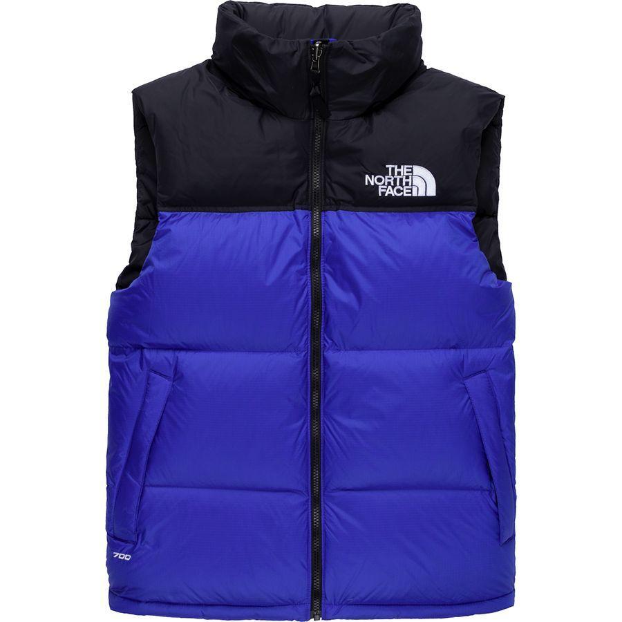 【ハイキング 登山 マウンテン アウトドア】【ウェア アウター】【大きいサイズ ビッグサイズ】 (取寄)ノースフェイス メンズ 1996レトロ ヌプシ ベスト The North Face Men's 1996 Retro Nuptse Vest Tnf Blue