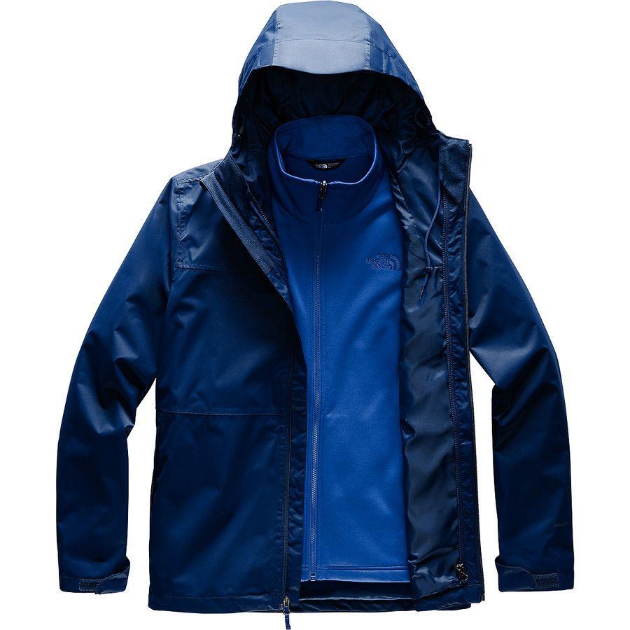 (取寄)ノースフェイス メンズ アロウッド トリクラメイトトール ジャケット The North Face Men's Arrowood Triclimate Tall Jacket Flag Blue/Tnf Blue