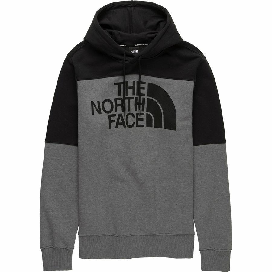 (取寄)ノースフェイス メンズ ドリュー ピーク プルオーバー パーカー The North Face Men's Drew Peak Hoodie Pullover Tnf Medium Grey Heather/Tnf Black