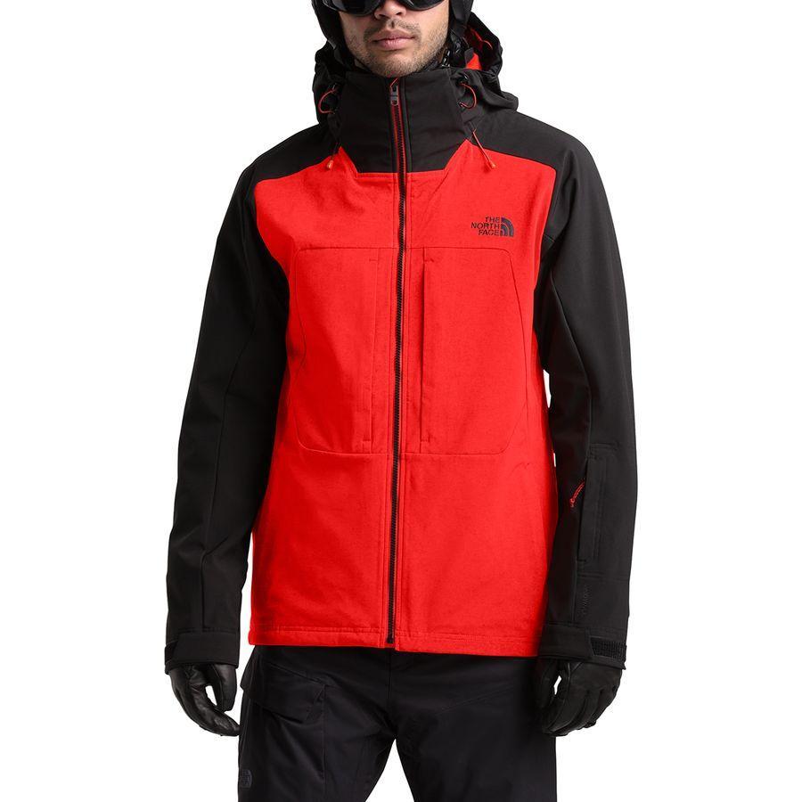 【クーポンで最大2000円OFF】(取寄)ノースフェイス メンズ アペックス ストーム ピーク トリクラメイト ジャケット The North Face Men's Apex Storm Peak Triclimate Jacket Fiery Red/Tnf Black