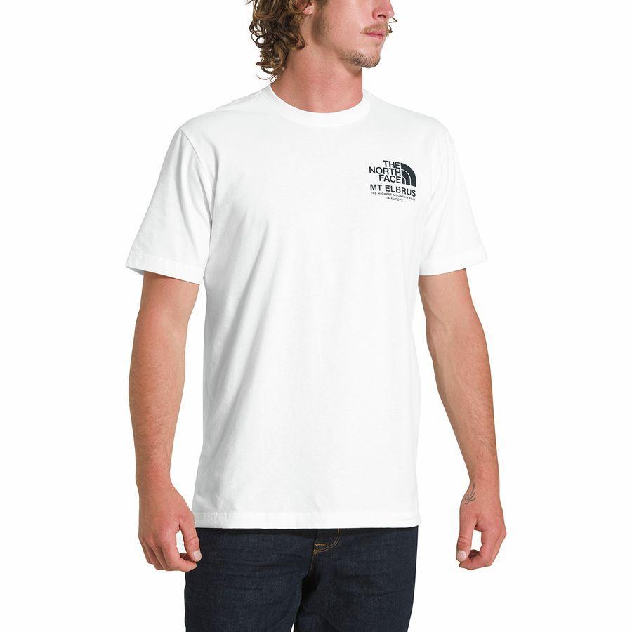 (取寄)ノースフェイス メンズ ハイエスト ピークス Tシャツ The North Face Men's Highest Peaks T-Shirt Tnf White
