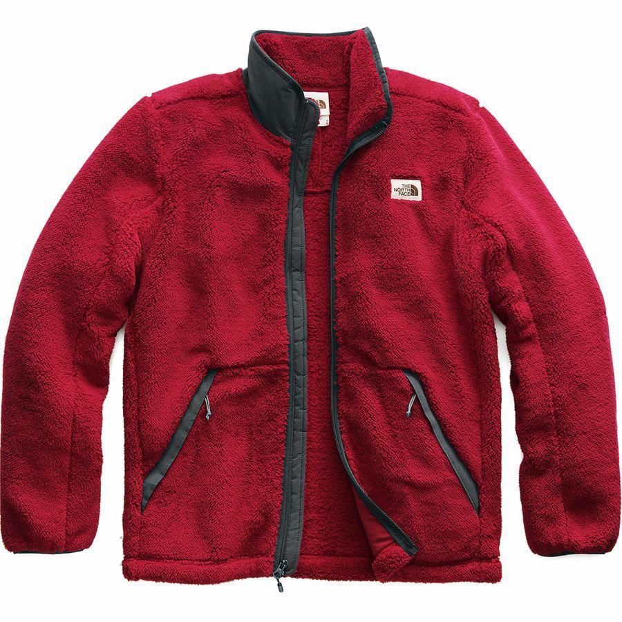 【ハイキング 登山 マウンテン アウトドア】【ウェア アウター】【大きいサイズ ビッグサイズ】 (取寄)ノースフェイス メンズ Campshire フルジップ フリース ジャケット The North Face Men's Campshire Full-Zip Fleece Jacket Cardinal Red/Asphalt Grey