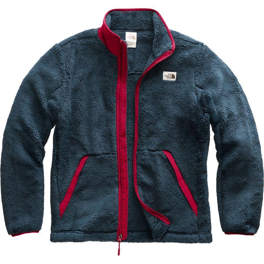 (取寄)ノースフェイス メンズ Campshire フルジップ フリース ジャケット The North Face Men's Campshire Full-Zip Fleece Jacket Urban Navy/Cardinal Red