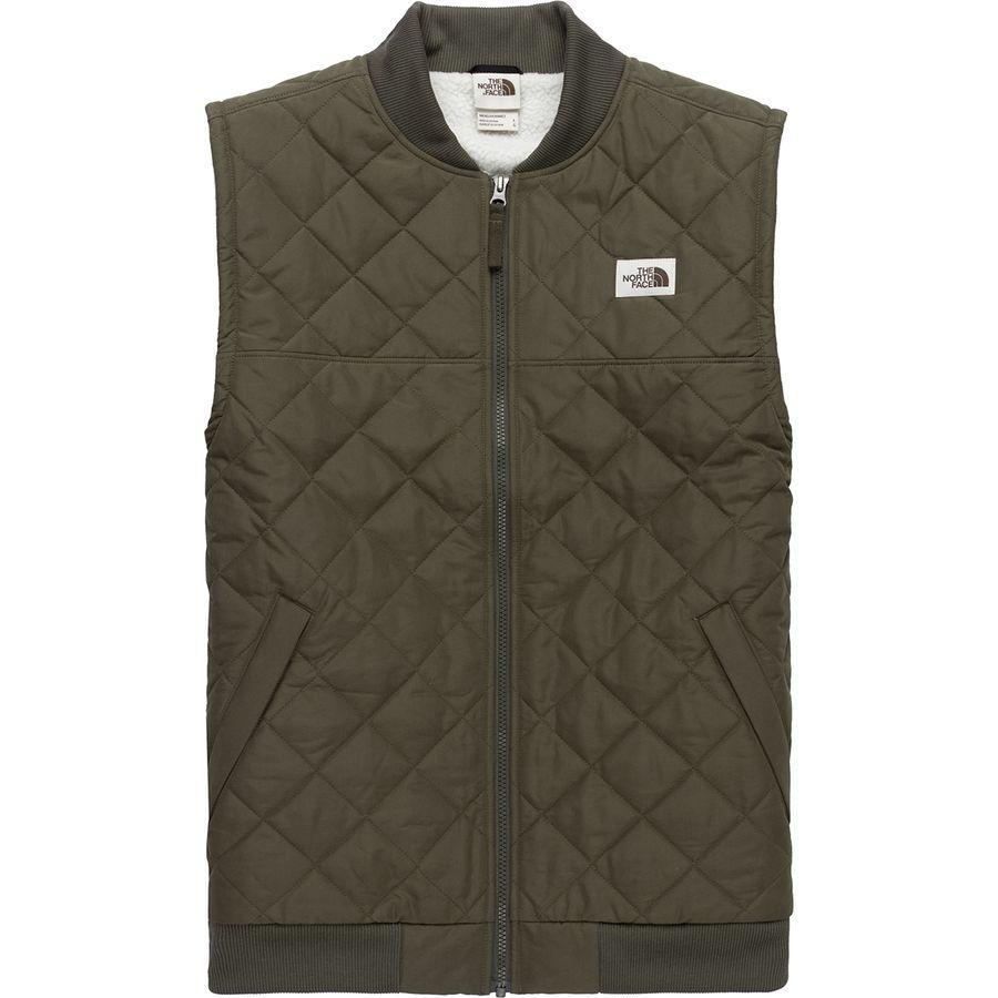 (取寄)ノースフェイス メンズ Cuchillo 2.0インサレーテッド ベスト The North Face Men's Cuchillo 2.0 Insulated Vest New Taupe Green