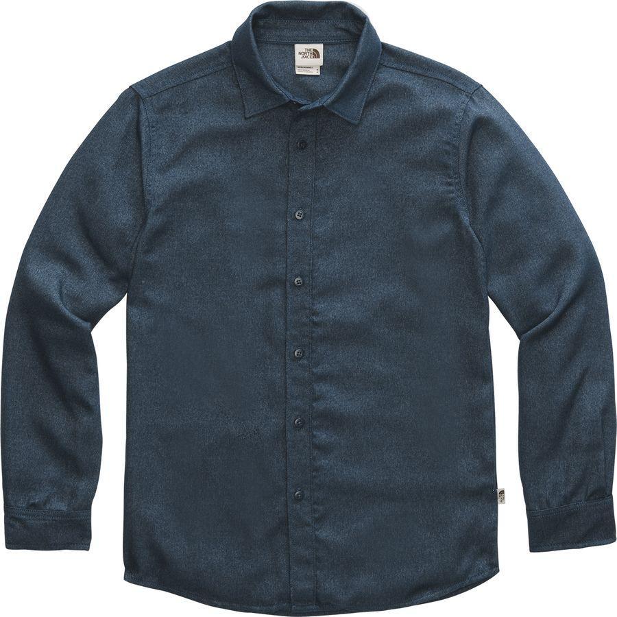 (取寄)ノースフェイス メンズ サーモコア ロングスリーブ シャツ The North Face Men's ThermoCore Long-Sleeve Shirt Blue Wing Teal