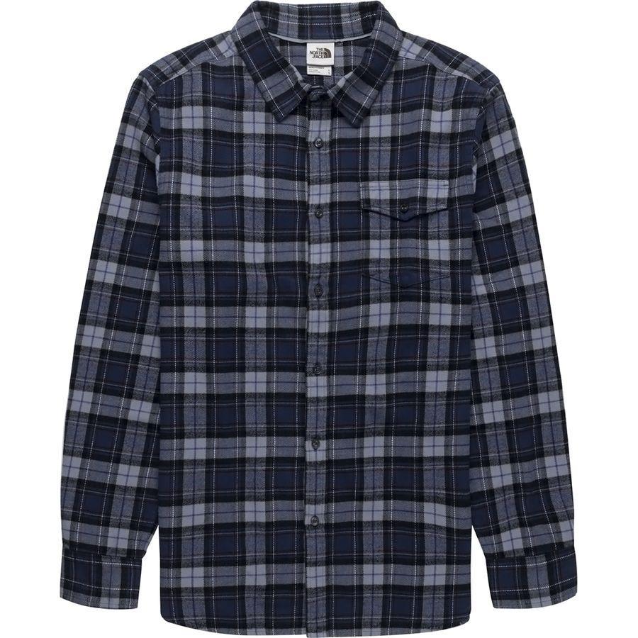 (取寄)ノースフェイス メンズ アロヨ ロングスリーブ フランネル シャツ The North Face Men's Arroyo Long-Sleeve Flannel Shirt Blue Wing Teal Ravine Plaid