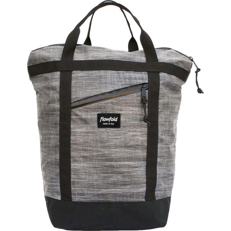 (取寄)フローフォールド ユニセックス デニゼン リミテッド 14Lトート バックパック Flowfold Men's Denizen Limited 14L Tote Backpack Heather Grey