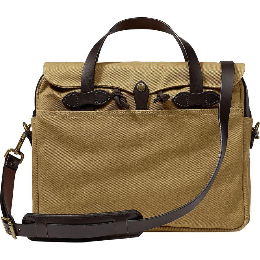【エントリーでポイント5倍】(取寄)フィルソン ユニセックス オリジナル ブリーフケース Filson Men's Original Briefcase Tan