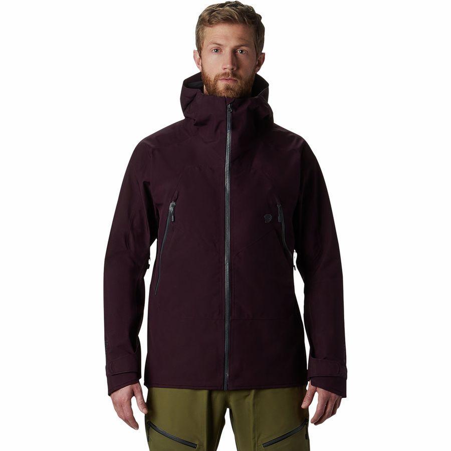 【クーポンで最大2000円OFF】(取寄)マウンテンハードウェア メンズ バウンダリ リッジ Gtx 3L ジャケット Mountain Hardwear Men's Boundary Ridge GTX 3L Jacket Darkest Dawn
