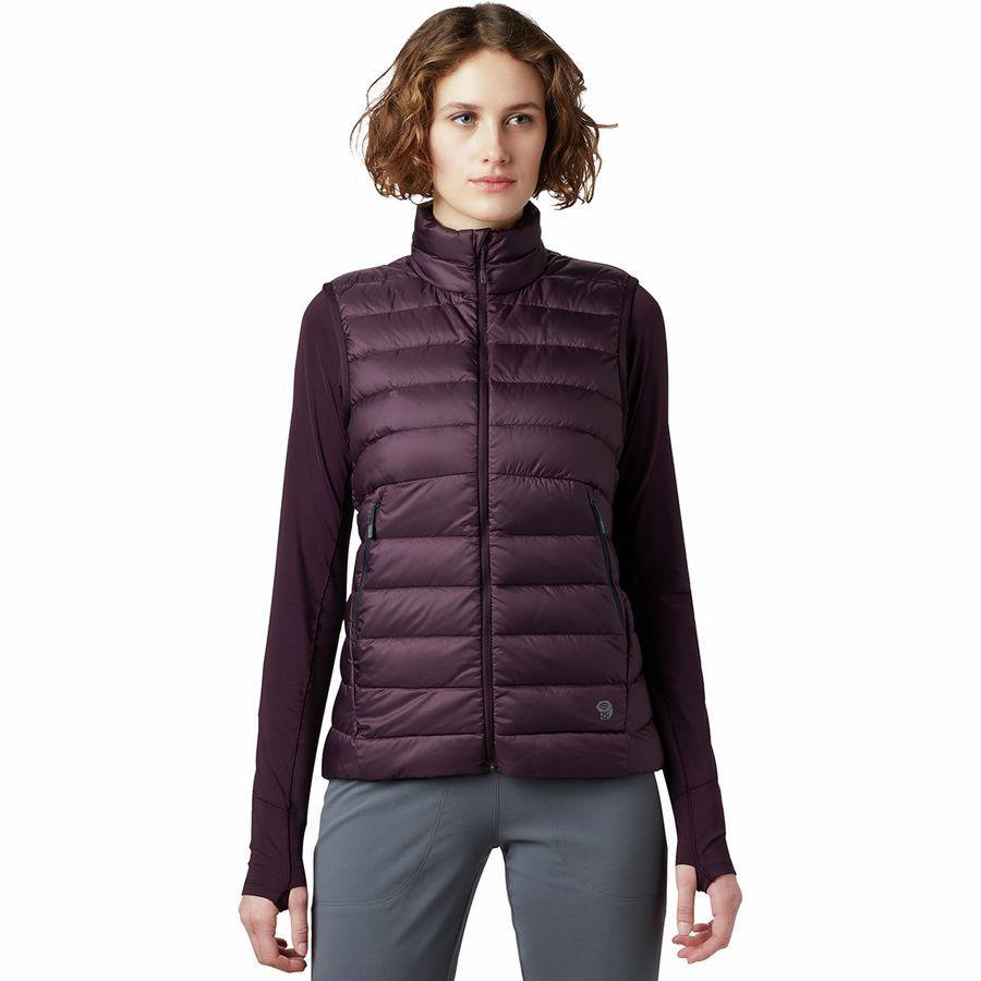 【クーポンで最大2000円OFF】(取寄)マウンテンハードウェア レディース レア リッジ ベスト Mountain Hardwear Women Rhea Ridge Vest Darkest Dawn