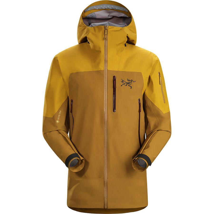 スーパーSALE 17000点大特価!ハイキング 登山 マウンテン アウトドアウェア アウタースキー スノーボード ウェア大きいサイズ ビッグサイズ (取寄)アークテリクス メンズ セイバー LT ジャケット Arc'teryx Men's Sabre LT Jacket Golden Mind