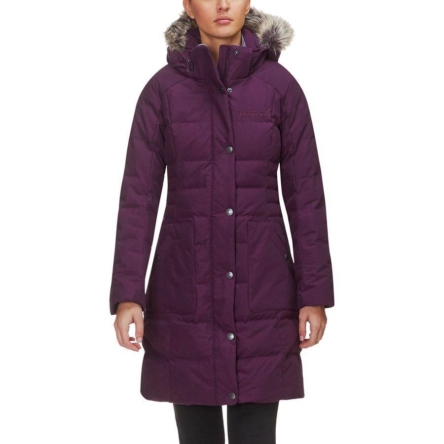 (取寄)マーモット レディース クレアホール ダウン ジャケット Marmot Women Clarehall Down Jacket Dark Purple