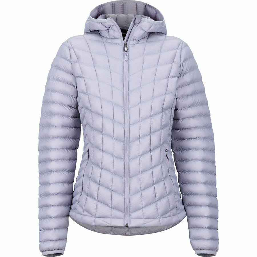 【エントリーでポイント5倍】(取寄)マーモット レディース フェザーレス フーデッド インサレーテッド ジャケット Marmot Women Featherless Hooded Insulated Jacket Lavender Aura