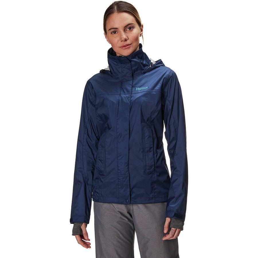 (取寄)マーモット レディース PreCip エコ ジャケット Marmot Women PreCip Eco Jacket Arctic Navy