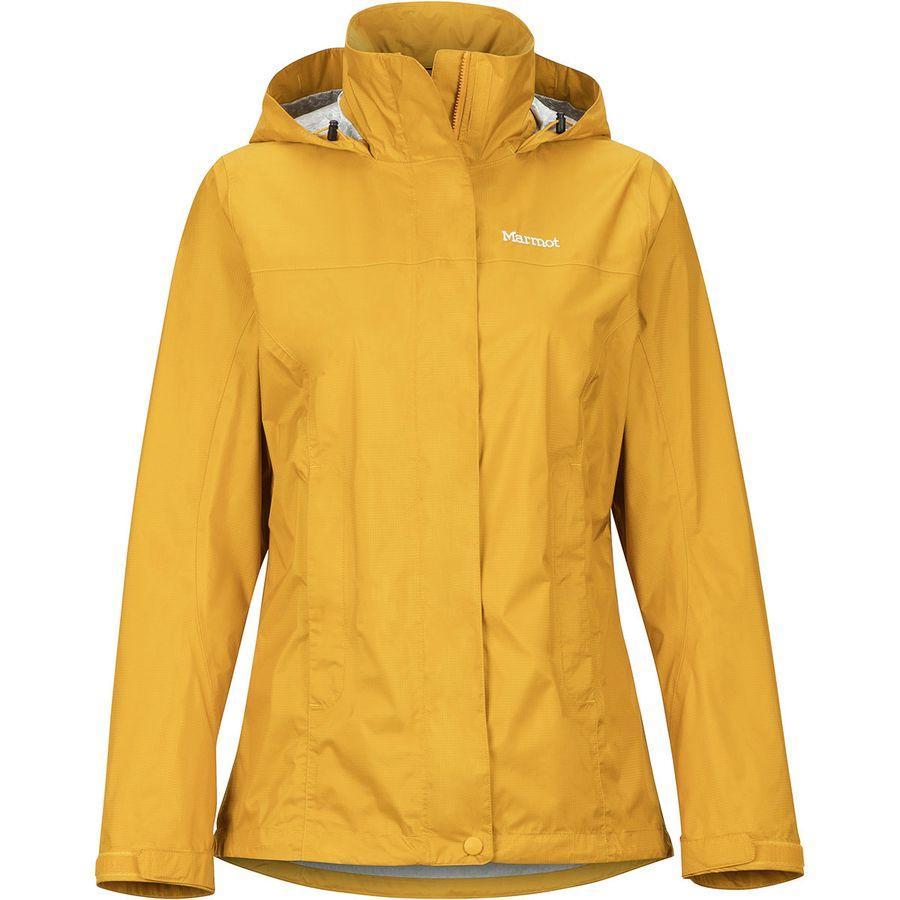 (取寄)マーモット レディース PreCip エコ ジャケット Marmot Women PreCip Eco Jacket 黄 ゴールド