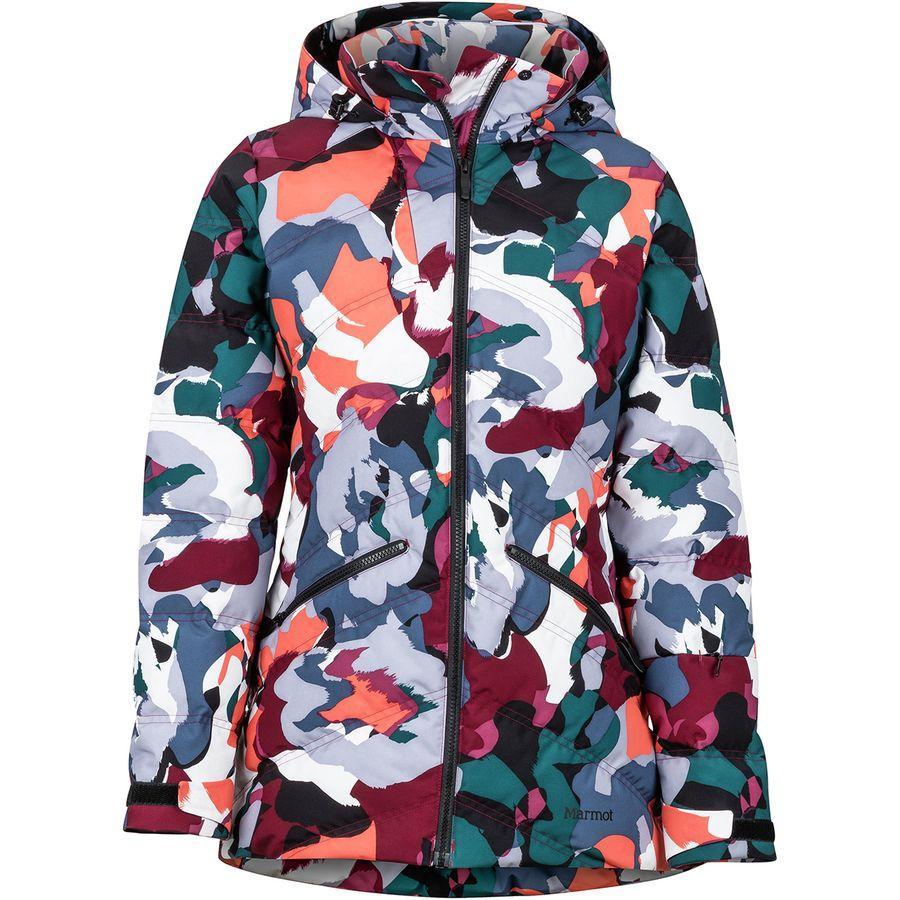 (取寄)マーモット レディース ヴァル D'sere ダウン ジャケット Marmot Women Val D'sere Down Jacket Multi Pop Camo
