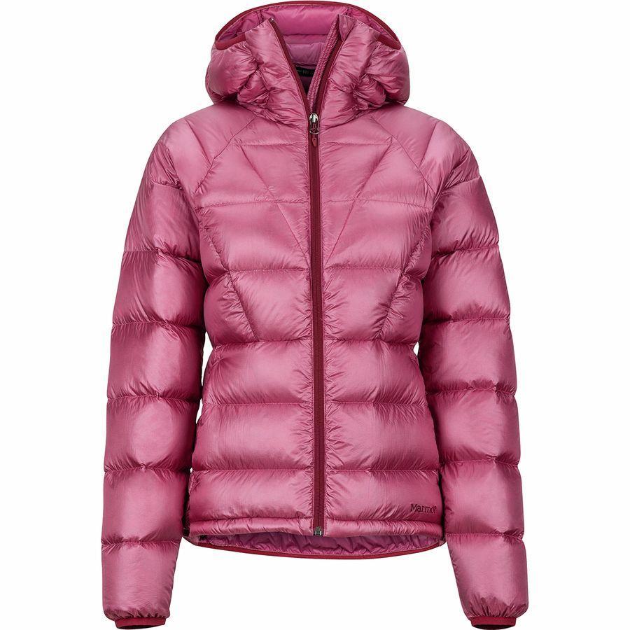 (取寄)マーモット レディース ハイプ ダウン フーデッド ジャケット Marmot Women Hype Down Hooded Jacket Dry Rose
