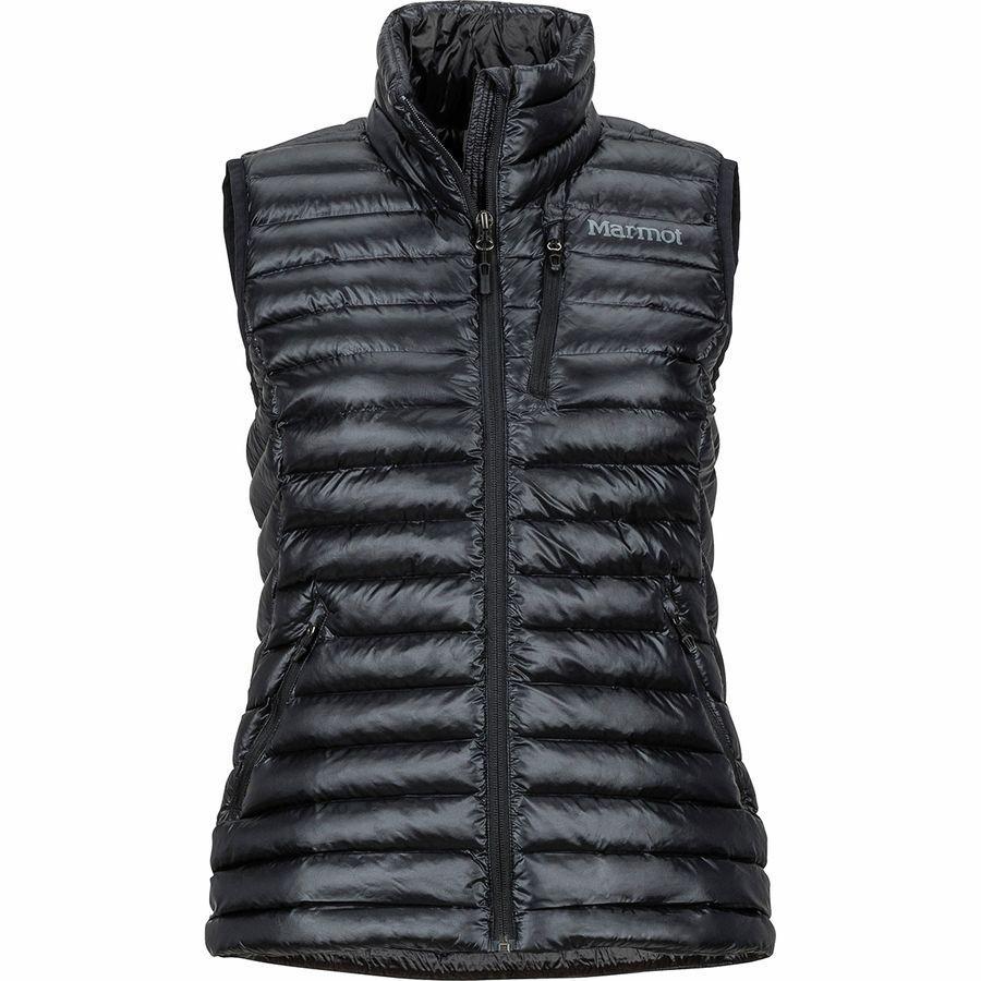 (取寄)マーモット レディース アバント フェザーレス ベスト Marmot Women Avant Featherless Vest 黒