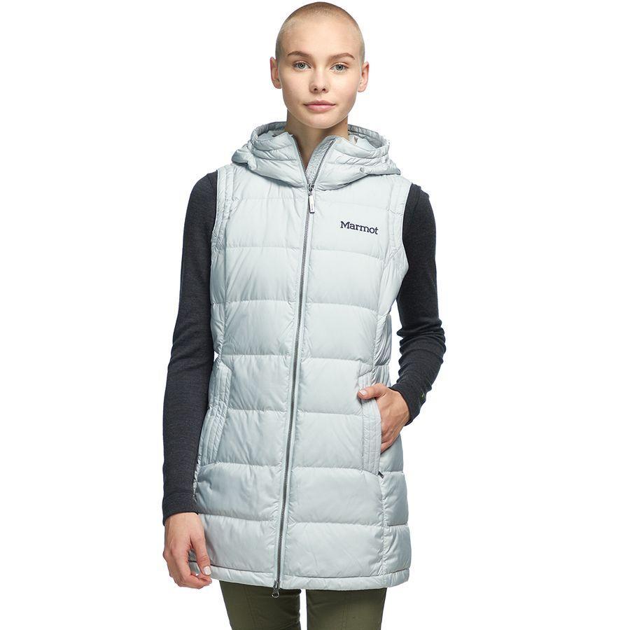(取寄)マーモット レディース イサカ フーデッド ベスト Marmot Women Ithaca Hooded Vest Bright Steel