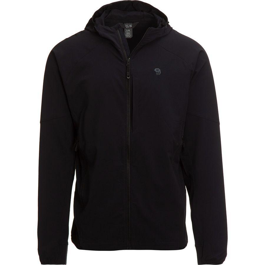 (取寄)マウンテンハードウェア メンズ チョックストーン フーデッド ジャケット Mountain Hardwear Men's Chockstone Hooded Jacket Black