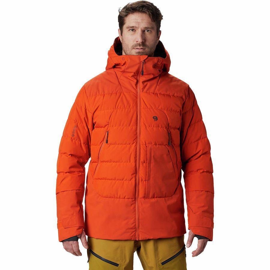 スーパーSALE 17000点大特価!ハイキング 登山 トレッキング 山登り アウトドア カジュアル 防寒ジャケット アウター ウェア ダウンジャケット ダウンメンズ 男性用 (取寄)マウンテンハードウェア メンズ ダイレクト ノース Gtx ウィンドストッパー ダウン ジャケット Mountain Hardwear Men's Direct North GTX Windstopper Down Jacket Haze Orange