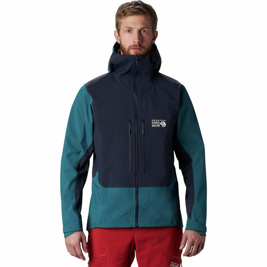 (取寄)マウンテンハードウェア メンズ エクスポーザー 2 Gtx プロ ジャケット Mountain Hardwear Men's Exposure 2 GTX Pro Jacket Dark Zinc