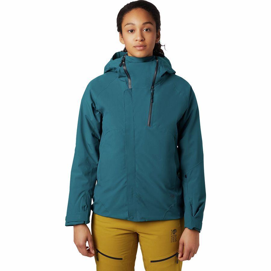 (取寄)マウンテンハードウェア レディース クラウド バンク Gtx インサレーテッド ジャケット Mountain Hardwear Women Cloud Bank GTX Insulated Jacket Dive