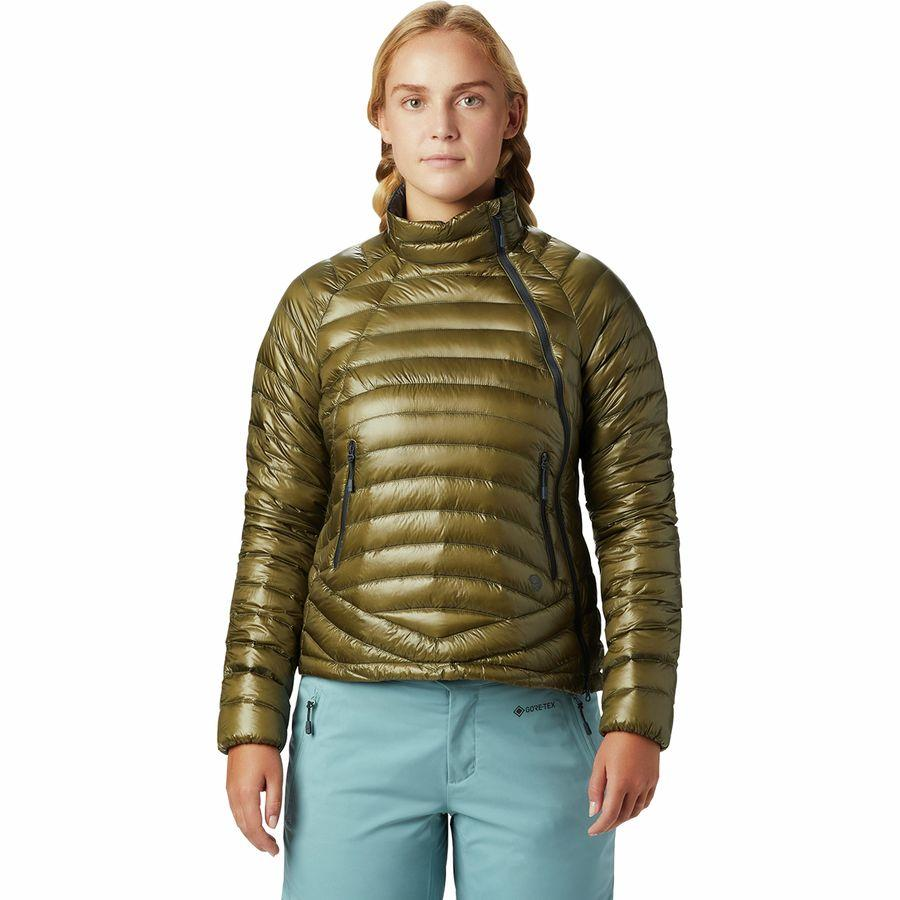 (取寄)マウンテンハードウェア レディース ゴースト ウィスパラー S ジャケット Mountain Hardwear Women Ghost Whisperer S Jacket Combat Green