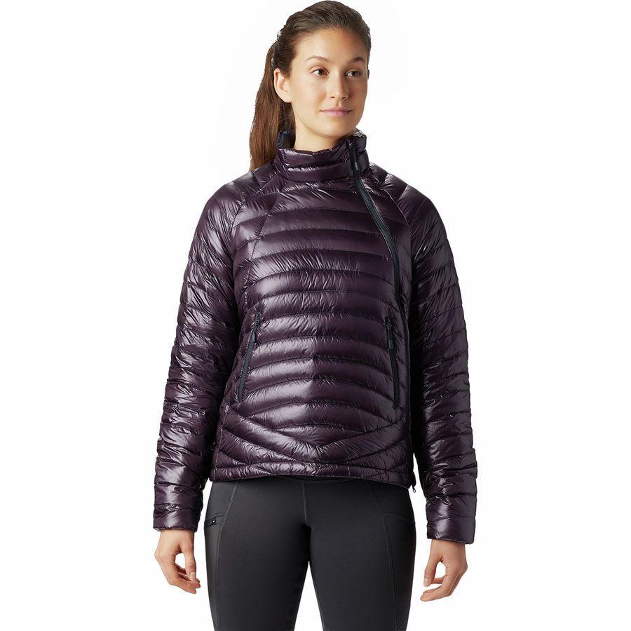 (取寄)マウンテンハードウェア レディース ゴースト ウィスパラー S ジャケット Mountain Hardwear Women Ghost Whisperer S Jacket Darkest Dawn