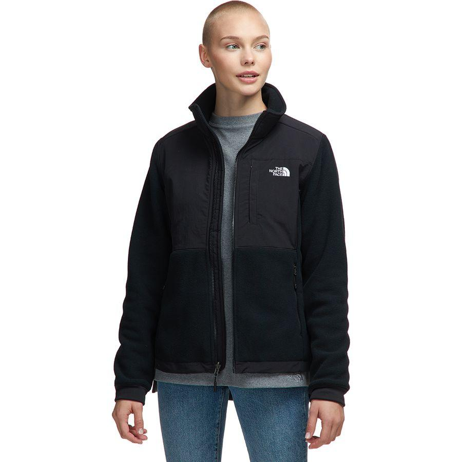 【ハイキング 登山 マウンテン アウトドア】【ウェア アウター】【山ガール ファッション ブランド】【大きいサイズ ビッグサイズ】 (取寄)ノースフェイス レディース デナリ 2 フリース ジャケット The North Face Women Denali 2 Fleece Jacket Tnf Black/Tnf White Logo