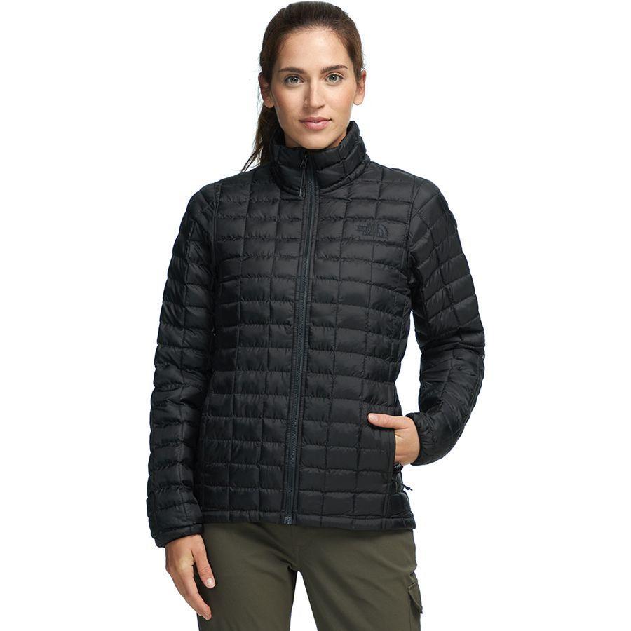 (取寄)ノースフェイス レディース サーモボール エコ インサレーテッド ジャケット The North Face Women Thermoball Eco Insulated Jacket Tnf Black Matte