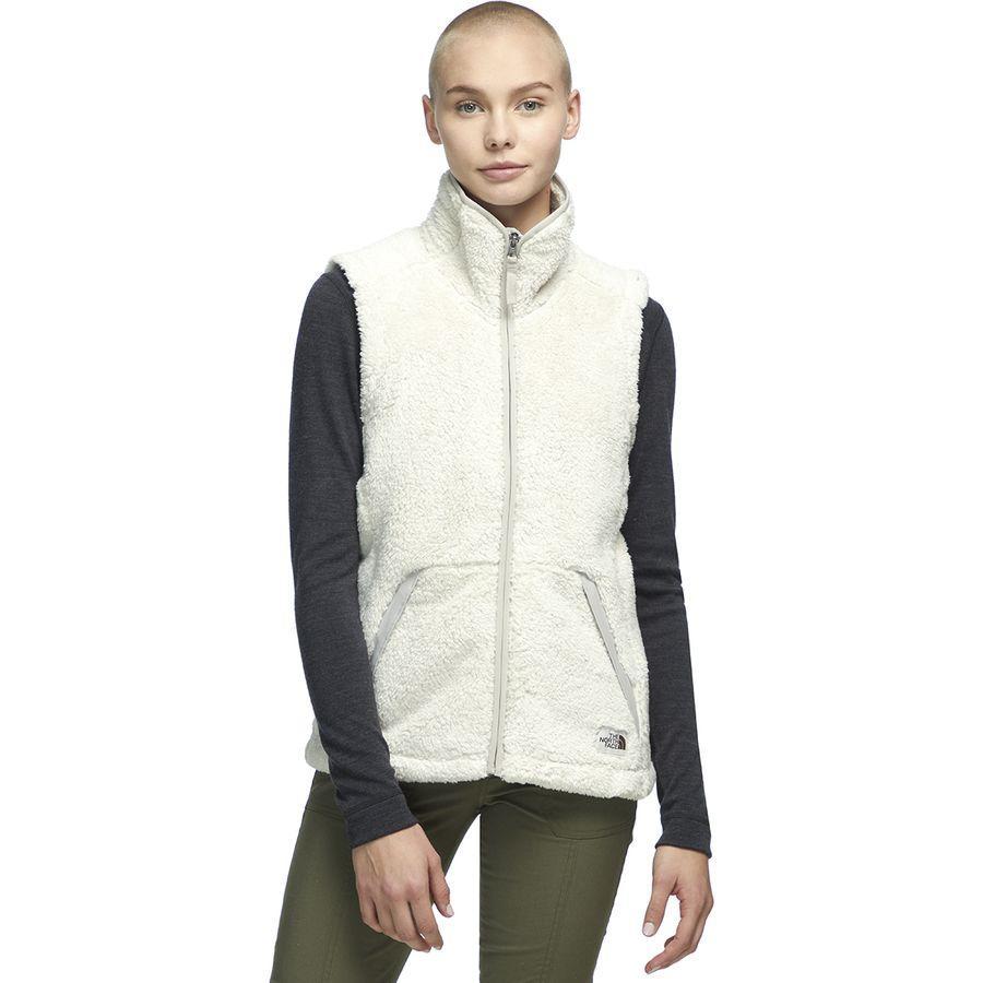 【クーポンで最大2000円OFF】(取寄)ノースフェイス レディース Campshire 2.0フリース ベスト The North Face Women Campshire 2.0 Fleece Vest Vintage White/Dove Grey