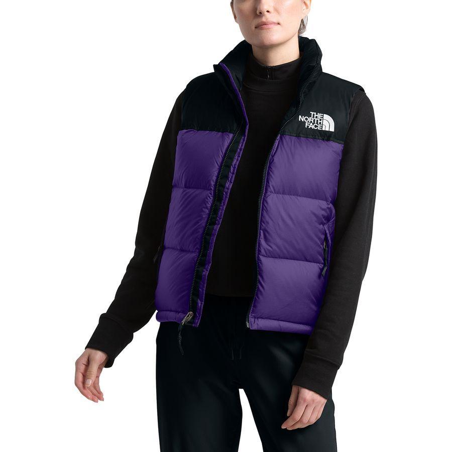 (取寄)ノースフェイス レディース 1996レトロ ヌプシ ベスト The North Face Women 1996 Retro Nuptse Vest Hero Purple