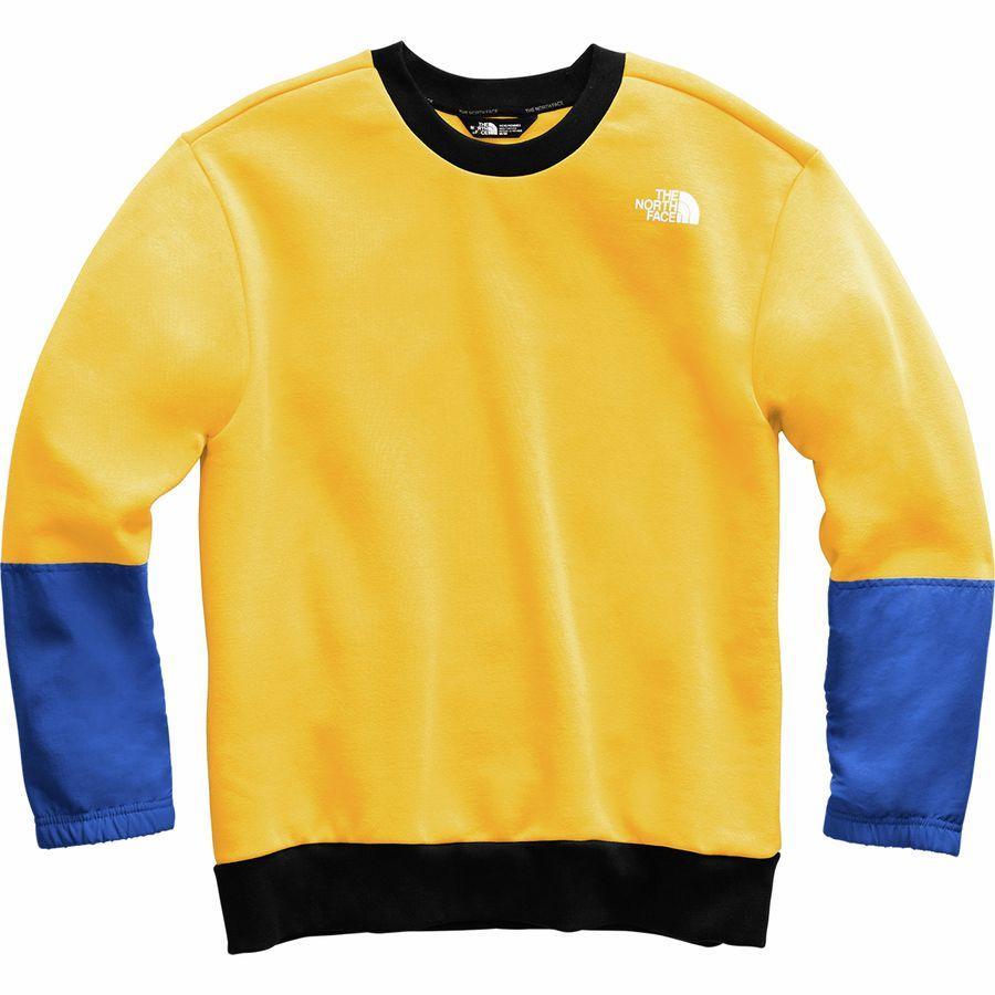 (取寄)ノースフェイス メンズ NSE グラフィック ロングスリーブ クルー シャツ The North Face Men's NSE Graphic Long-Sleeve Crew Shirt Tnf Yellow/Tnf Blue/Tnf Black