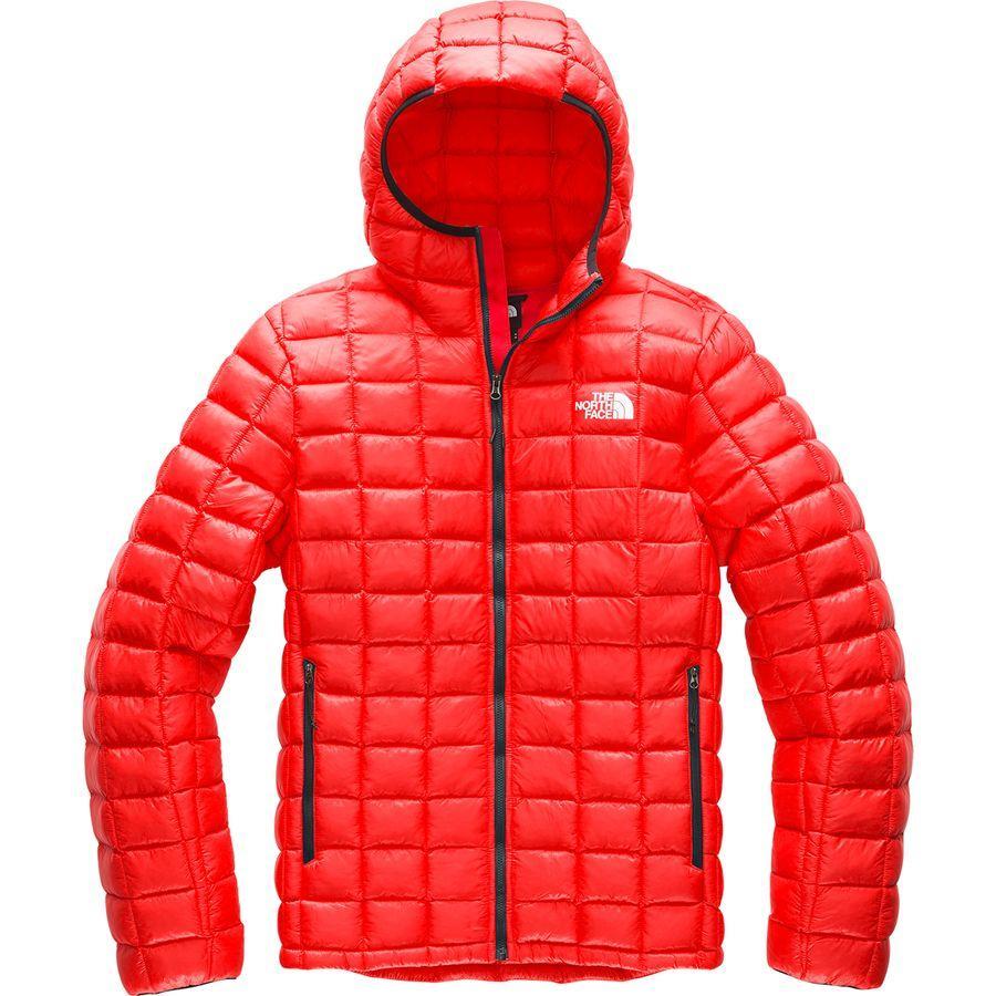 【ハイキング 登山 マウンテン アウトドア】【ウェア アウター】【大きいサイズ ビッグサイズ】 (取寄)ノースフェイス メンズ サーモボール スーパー フーデッド インサレーテッド ジャケット The North Face Men's Thermoball Super Hooded Insulated Jacket Fiery Red