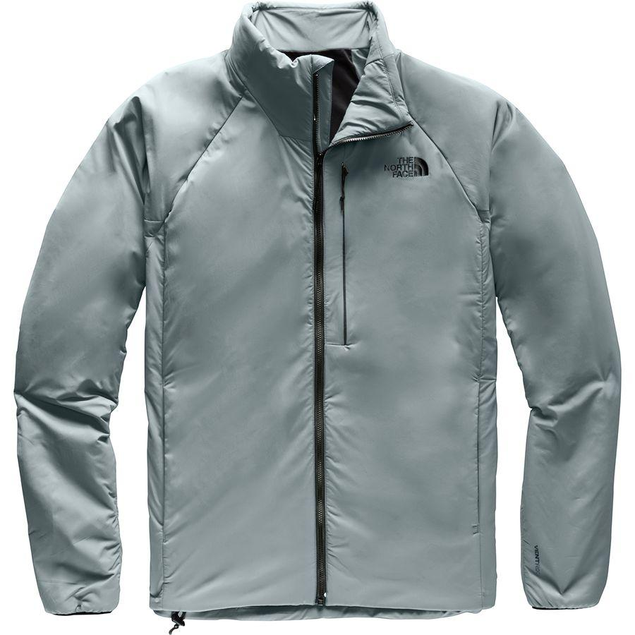 (取寄)ノースフェイス メンズ ヴェントリックス インサレーテッド フーデッド ジャケット The North Face Men's Ventrix Insulated Hooded Jacket Mid Grey