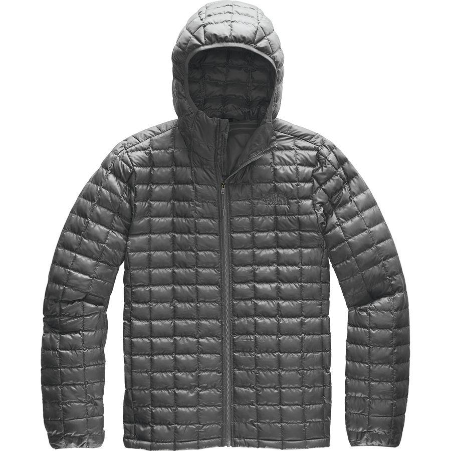 【ハイキング 登山 マウンテン アウトドア】【ウェア アウター】【大きいサイズ ビッグサイズ】 (取寄)ノースフェイス メンズ サーモボール エコ フーデッド ジャケット The North Face Men's Thermoball Eco Hooded Jacket Asphalt Grey Matte