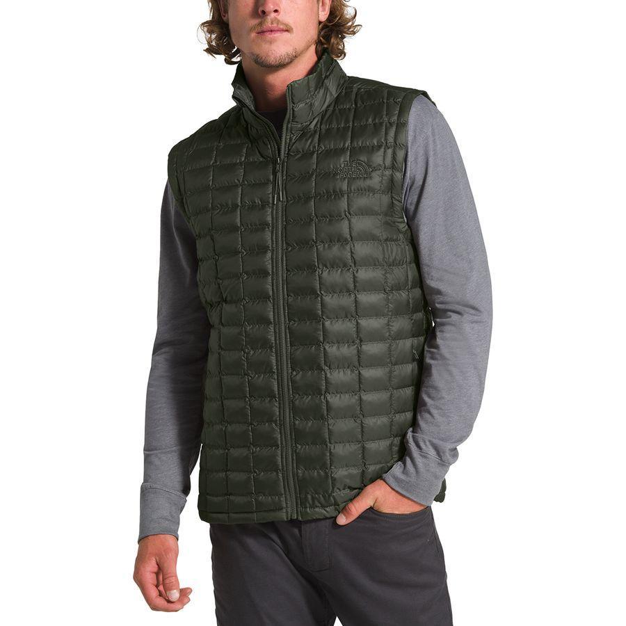 【ハイキング 登山 マウンテン アウトドア】【ウェア アウター】【大きいサイズ ビッグサイズ】 (取寄)ノースフェイス メンズ サーモボール エコ ベスト The North Face Men's Thermoball Eco Vest New Taupe Green Matte
