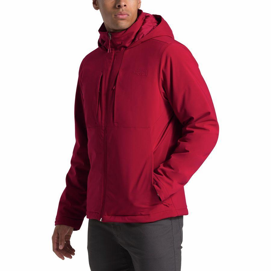 【ハイキング 登山 マウンテン アウトドア】【ウェア アウター】【大きいサイズ ビッグサイズ】 (取寄)ノースフェイス メンズ アペックス エレベーション インサレーテッド ジャケット The North Face Men's Apex Elevation Insulated Jacket Cardinal Red