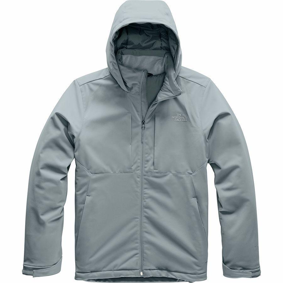 (取寄)ノースフェイス メンズ アペックス エレベーション インサレーテッド ジャケット The North Face Men's Apex Elevation Insulated Jacket Mid Grey