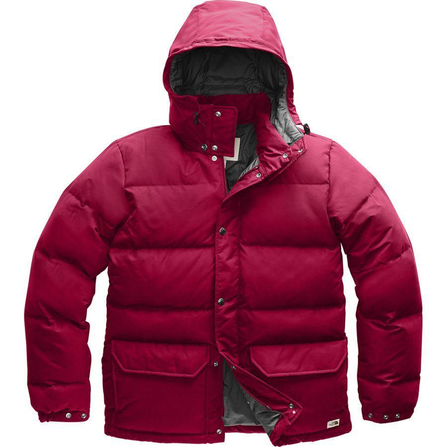 (取寄)ノースフェイス メンズ ダウン シエラ 3.0 ジャケット The North Face Men's Down Sierra 3.0 Jacket Cardinal Red