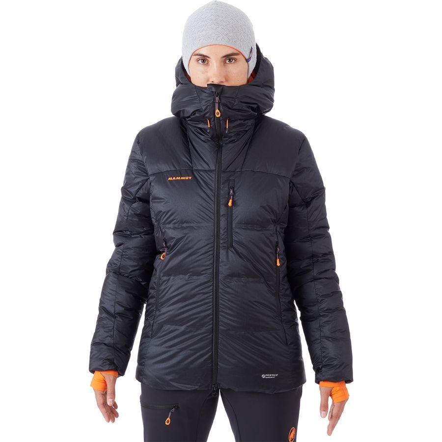(取寄)マムート レディース アイガーヨッホ プロ イン フーデッド ジャケット Mammut Women Eigerjoch Pro In Hooded Jacket Black