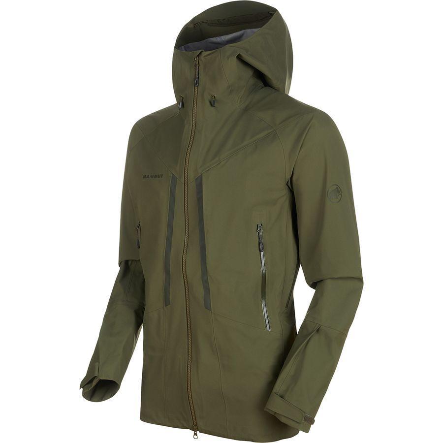 (取寄)マムート メンズ マサオ HS フーデッド ジャケット Mammut Men's Masao HS Hooded Jacket Iguana