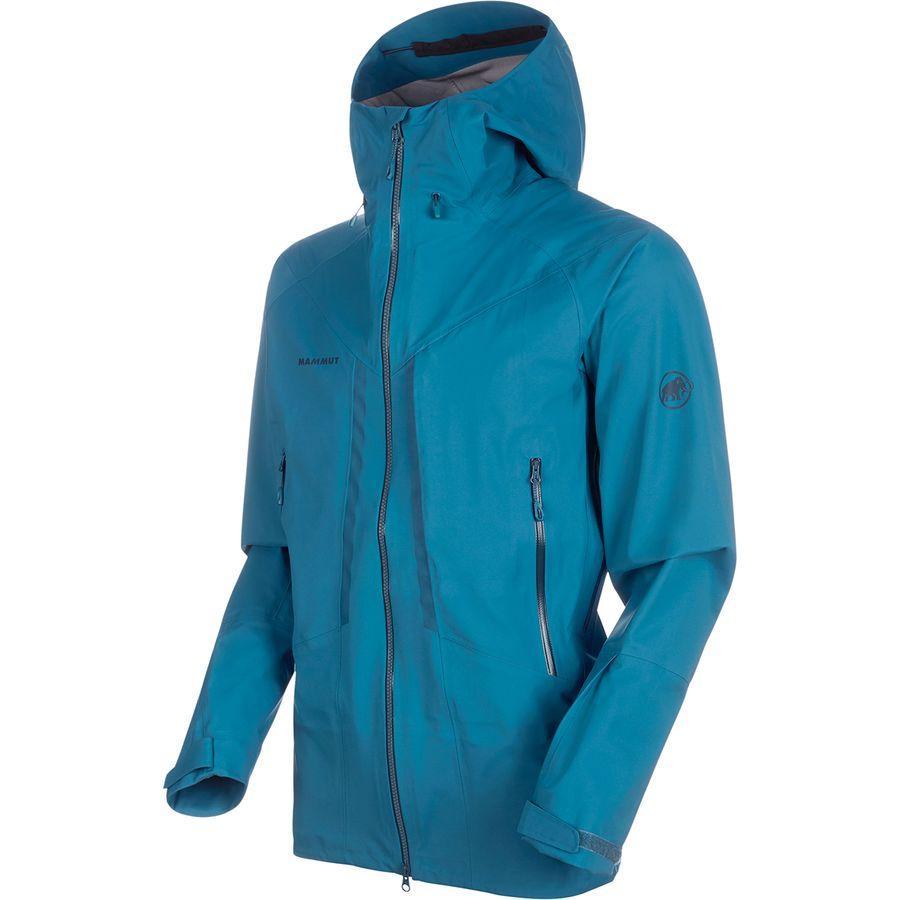 (取寄)マムート メンズ マサオ HS フーデッド ジャケット Mammut Men's Masao HS Hooded Jacket Sapphire